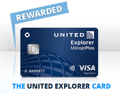 United Explorer Card 40 000 Bonus Miles