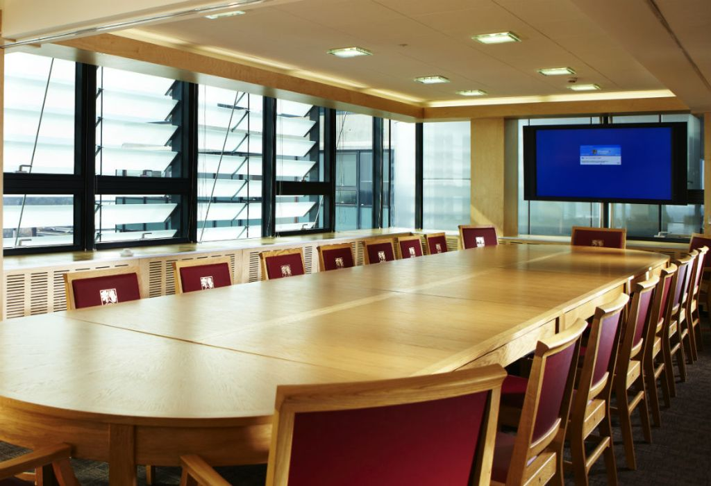 Muirhead Hospitality Suite, meeting room and business dinner venue
