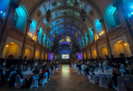 Awards ceremony dinner and reception, the Great Hall