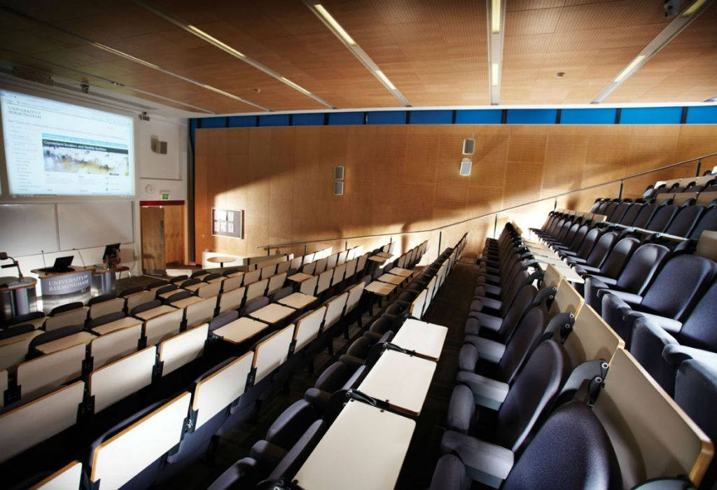 Campus lecture theatre, Muirhead Tower