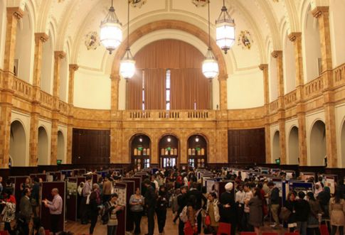 Conference exhibition in the Great Hall
