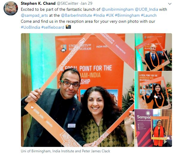 India institute twitter screenshot