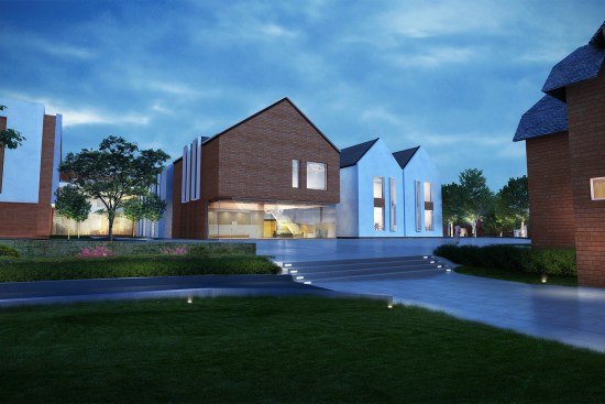 Edgbaston Park Hotel render