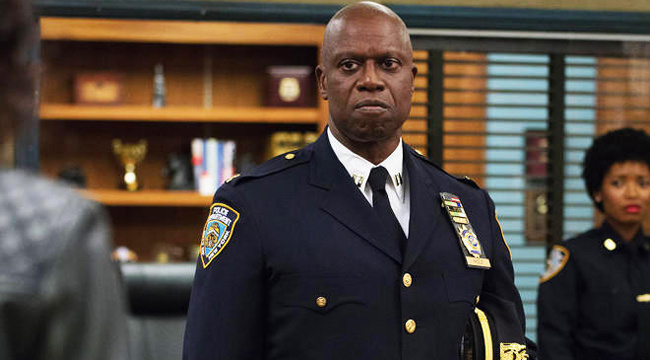 Captain Hold from Brooklyn Nine Nine