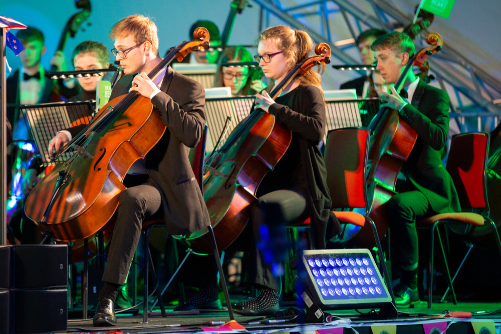 Two orchestras featured over the weekend, including the prestigious CBSO