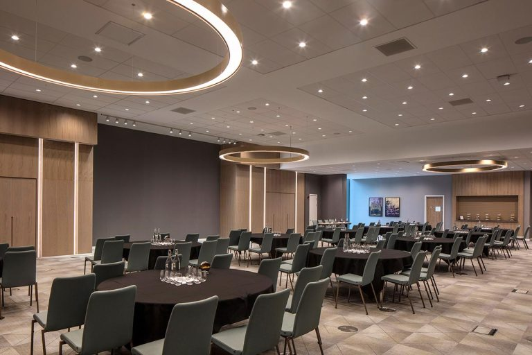 Banqueting room at Edgbaston Park Hotel