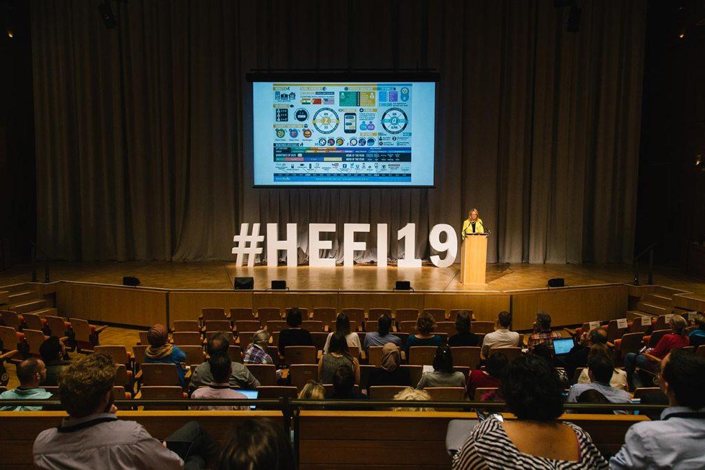 Speaker at HEFI19