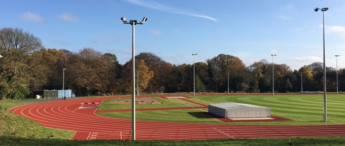 Athletics track university of birmingham