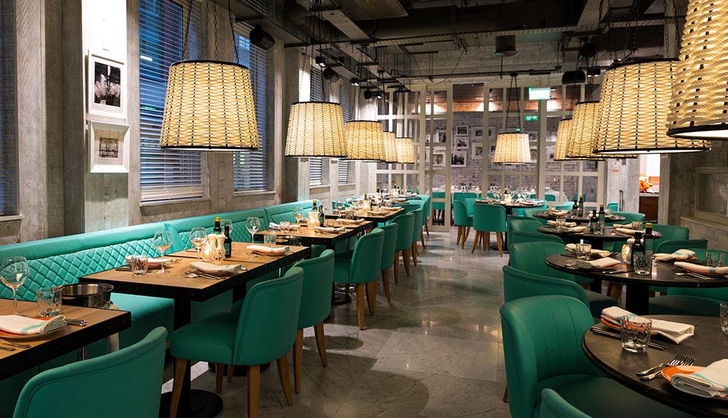 Gino D'Acampo's restaurant in Birmingham