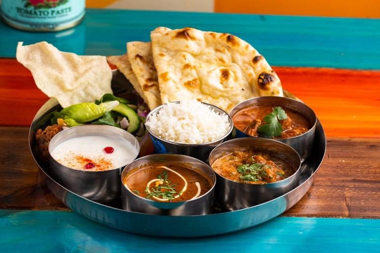 Indico thali in Birmingham