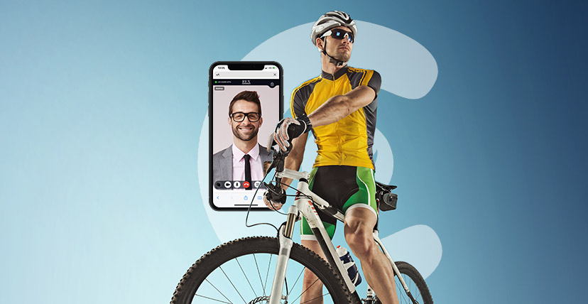 live video shopping cycling