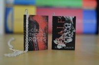 Mini Book Necklace