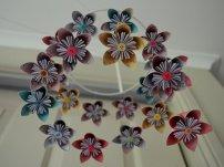 Origami Flower Mobile
