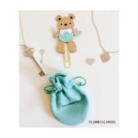 Tiffany Teddy Bookmark
