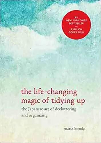 Marie Kondo book magic of tidying up