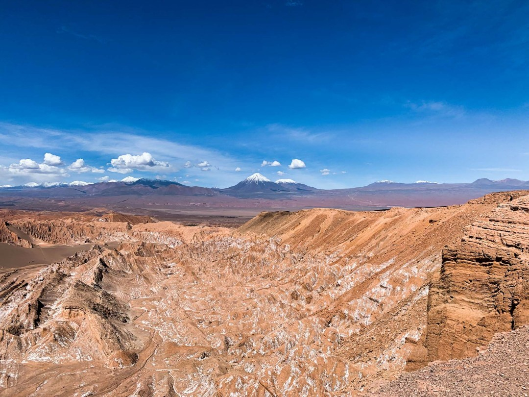 Atacama Desert Cornisas Hike Mars Valley