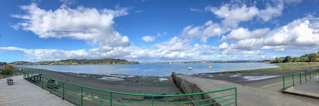 View from Chelin of greater Chiloe