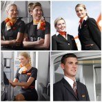 easyJet's cabin crew have always been the key to its success, wining numerous awards and constantly being commended for their excellent customer service. In 2013 the airline teamed up with designer Jeff Banks to redesign its cabin crew uniforms. To read more about the transformation check out our 'Style in the Aisles - Top 10 Cabin Crew uniforms of 2014' here - http://wp.me/p2lvHM-cg.