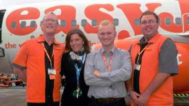 The first series of 'Airline' featuring easyJet aired on ITV in January 1999. The show was an instant hit following the working lives of some of the airlines staff such as Bob Brain, Leo Jones and Jane Bolton. The show regularly attracted over 10m viewers and made easyJet a household name in the UK.