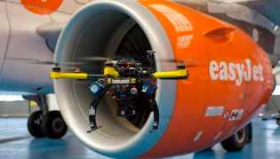 Over the years easyJet has been at the forefront of cutting edge technologies, innovations and reducing its impact on the environment. In November 2013 the airline successfully trialed the Airborne Volcanic Object Identifier and Detector or AVOID and in May 2014 it was announced the airline would use state-of-the-art drones to inspect its fleet.