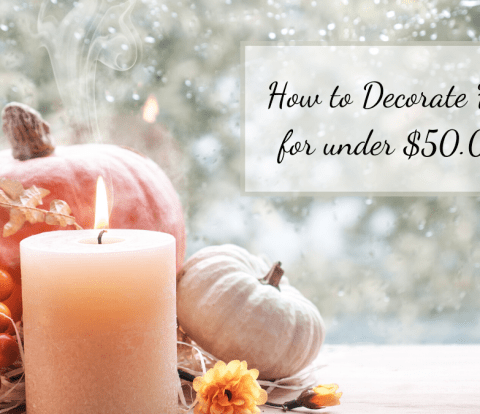 Looking for ways to decorate fall on a budget? Here are some great fall decorating ideas!