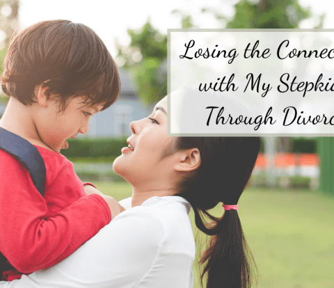 One of the greatest pains during my divorce was realizing that I would lose my connection with my step kids. I had developed such a love for them.