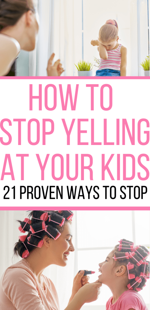 Are you trying to find the trick to how to stop yelling at your kids? We are sharing 21 proven tips to stop yelling today!