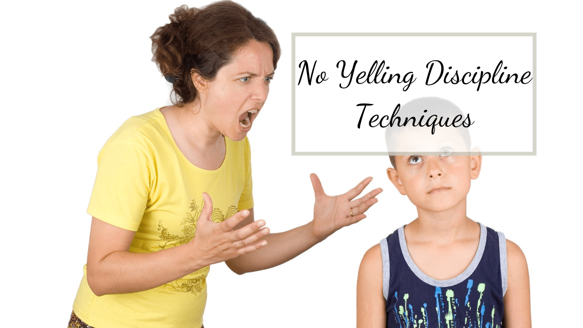 mom yelling at son before learning no yelling discipline techniques