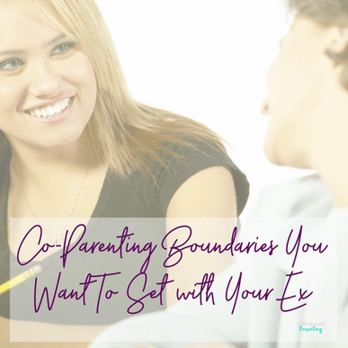 Co-Parenting Boundaries You Want To Set - Confessions of Parenting