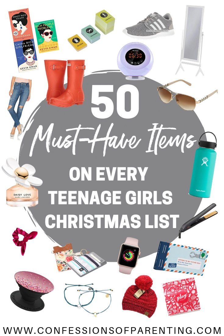 50 Must Have Items on Every Teenage girls Christmas List