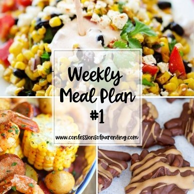 Are you looking for the perfect weekly meal plan for your family? We have 7 main dishes, 1 side dish, and 1 dessert right here ready for a whole week!