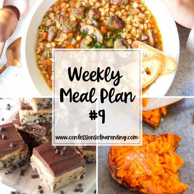 We all need a little help sometimes. This weekly meal plan for busy moms is the best dinner time helper! Get your easy and delicious recipes here!
