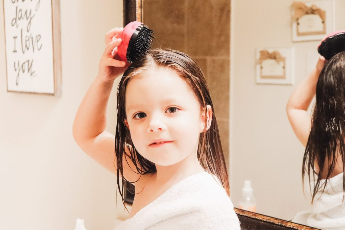 Does your toddler hate her hair being brushed? Are you tired of the tears while brushing? Today we are sharing secrets to ending the hair brushing battle with these 10 secrets to brushing your toddler's hair without the tears!