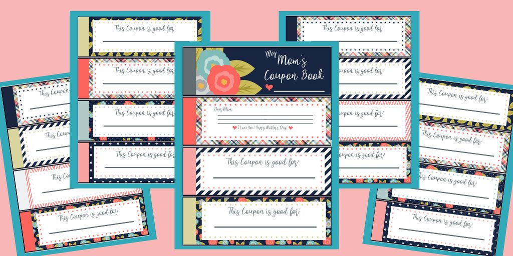 Do you need the perfect Mother's Day gift for your mom? Check out our FREE Mother's Day Coupon Book, just print, clip, and have her start redeeming today!