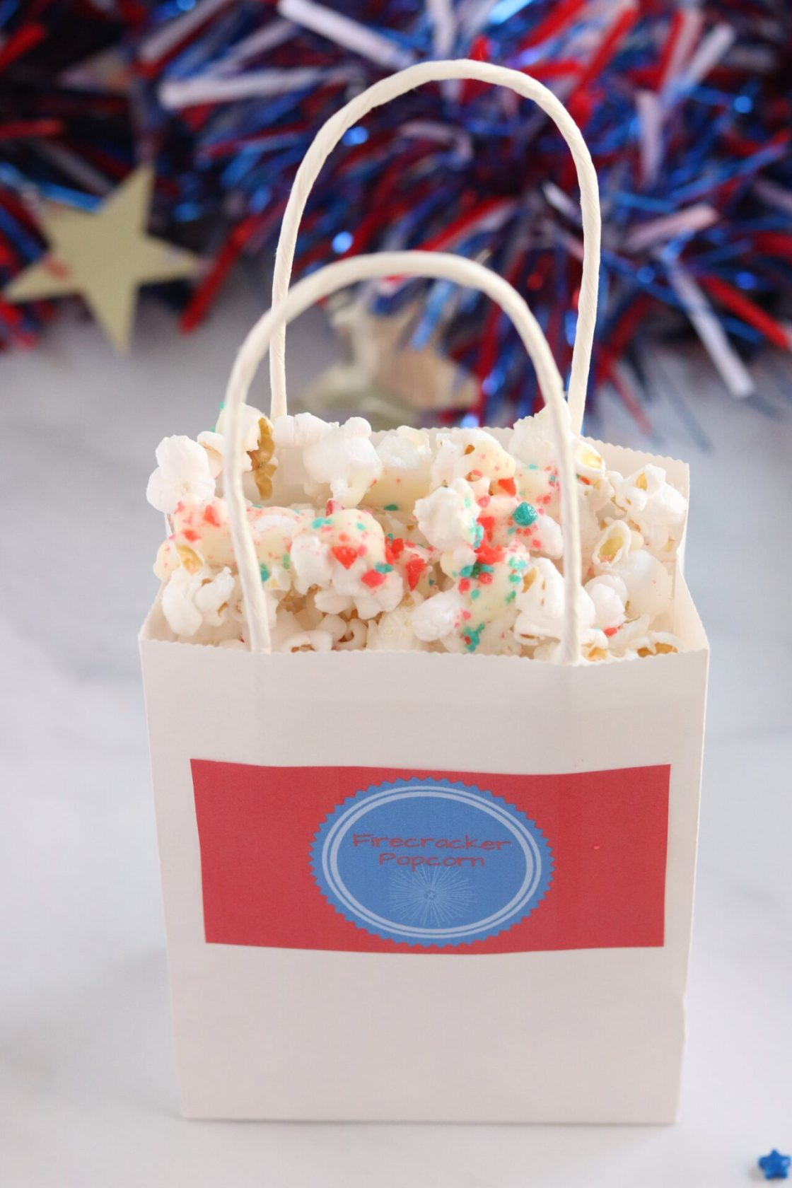 Looking for a tasty treat this Fourth of July? Well, look no further because Firecracker popcorn is the perfect treat no matter your Fourth of July plans!