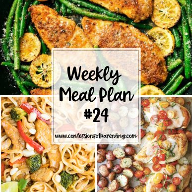 Who wants recipes that are complicated? Surely not busy families! That's why the piece of cake weekly meal plan for families is here to help!