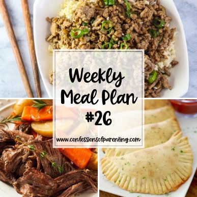 Every family needs to simplify their lives sometimes. Use our easily done weekly meal plan for families to simplify dinner time every night!