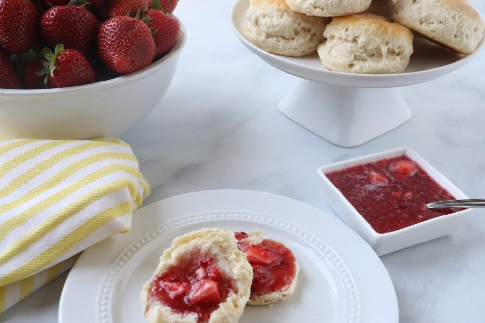 Making strawberry freezer jam is so easy to make with just a few simple steps you can have homemade strawberry jam all year long!