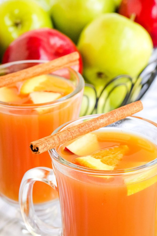 Are you looking for a super simple traditional Wassail or recipe or mulled cider? Well, look no further this recipe is delicious and simple that the whole family will enjoy!
