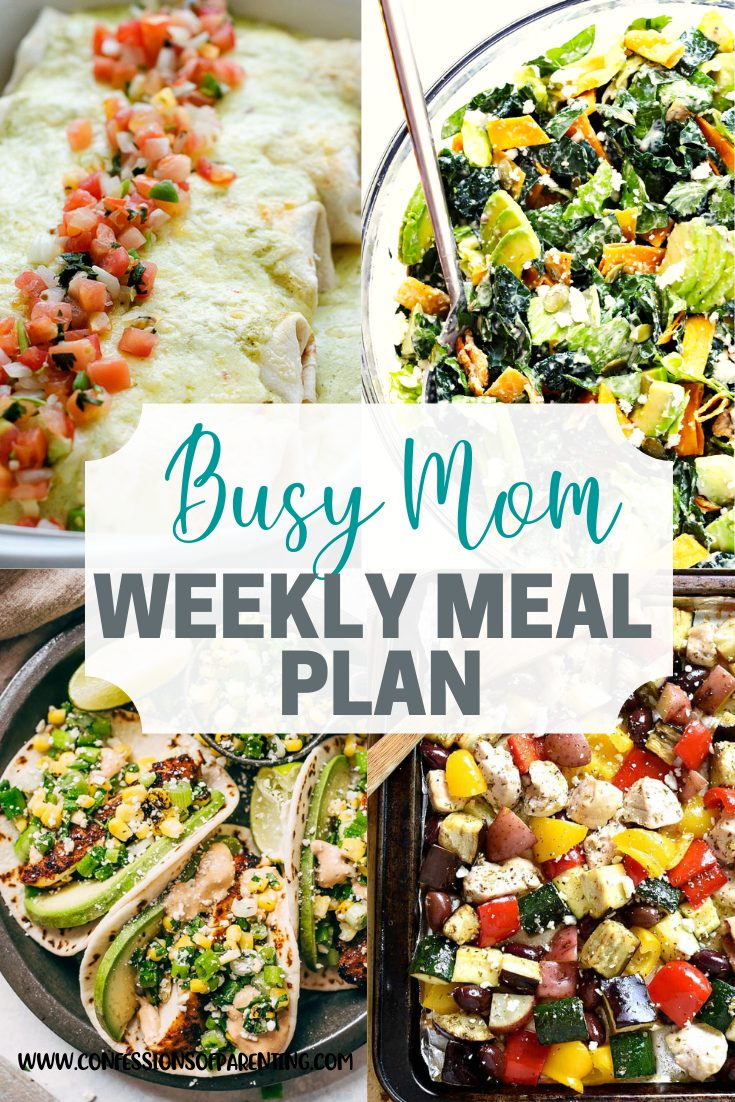 Looking for an easy out for your dinner routine? Use our breezy weekly meal plan for families to lessen your load a bit while also getting some delicious food!
