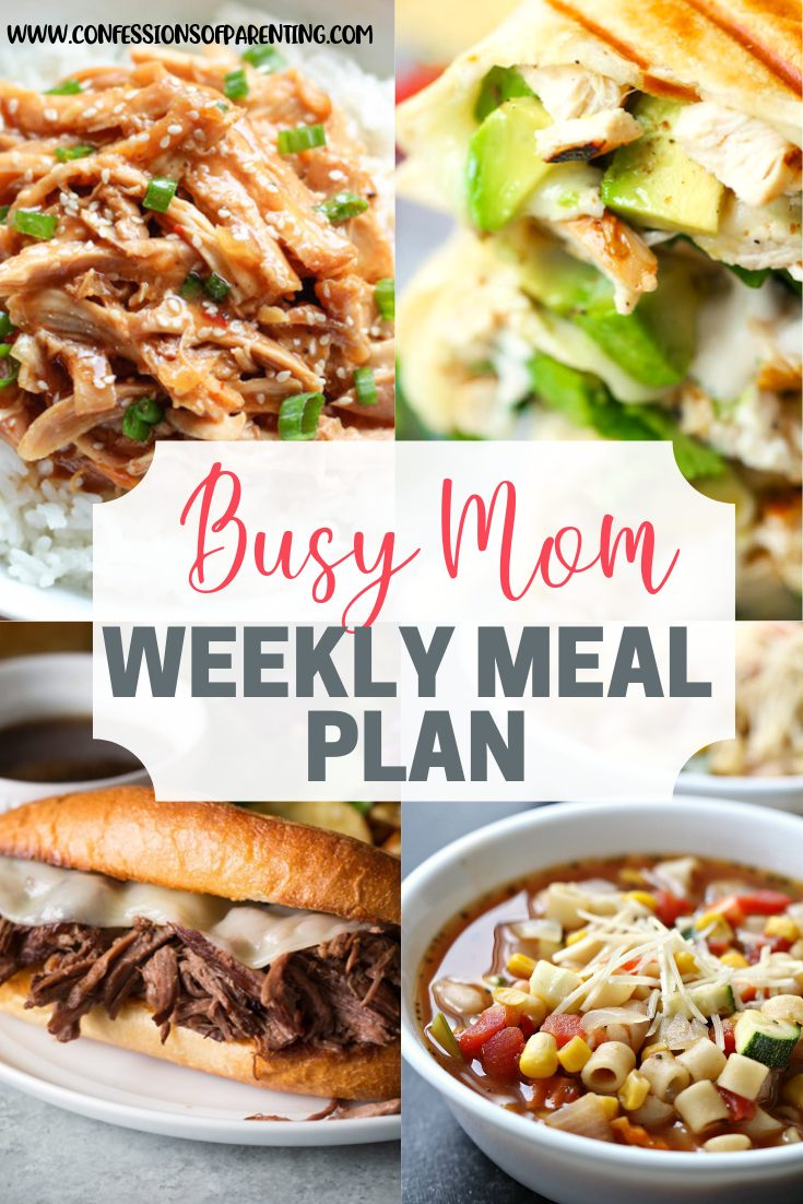 Why spend time laboring over a meal plan when someone else could do it for you? Use our weekly meal plan for laborious moms to simplify your life!