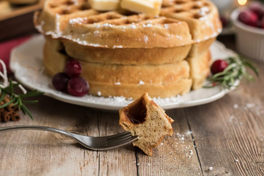This Eggnog waffle recipe is a staple during the holiday season. It is the perfect treat for breakfast, dinner, or even dessert. Out of all the eggnog waffle recipes, this is the best I have ever had!