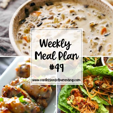 Moms are expected to keep going no matter how tired and dinner can be one of those tiring factors. Our weekly meal plan for untiring moms is here to help!