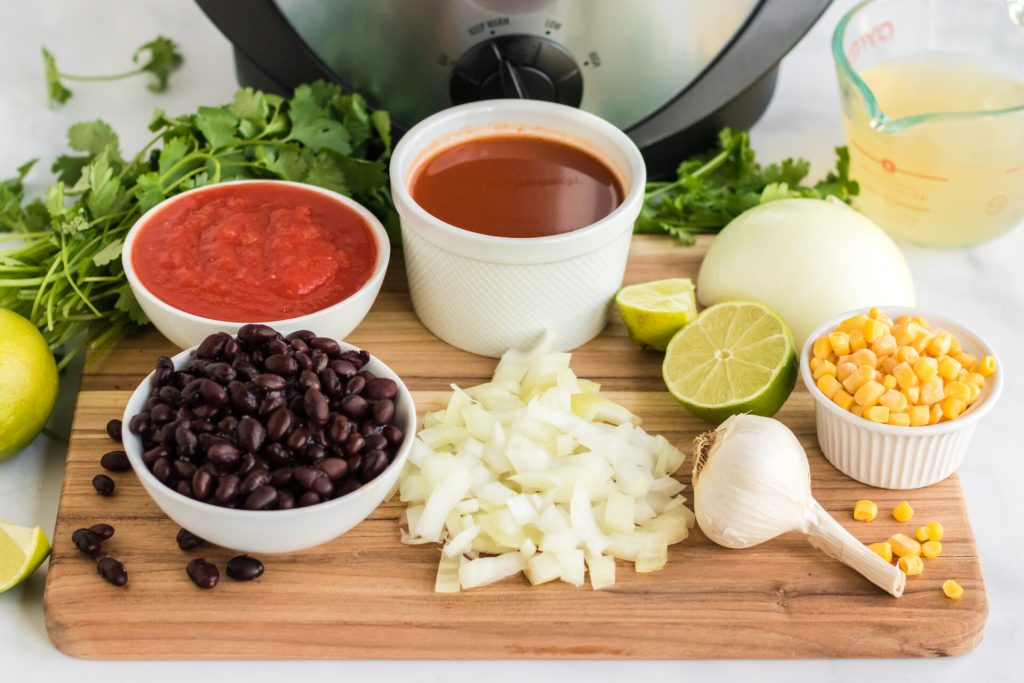 Wanting that hearty healthy tortilla soup without all the prep? Try our healthy chicken tortilla soup crock pot recipe that is simple and delicious!