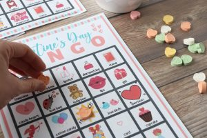 This Valentine's Day Bingo free printable is the perfect activity for you and your family this year! Bingo is an all-time favorite because it's easy to understand and fun to play. Download your free Valentine's day bingo cards now!