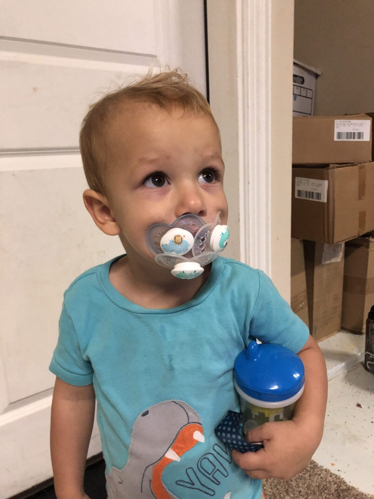 Is your toddler obsessed with their pacifier like mine were? Pacifier weaning may seem impossible but this method will have you getting rid of the pacifier in just 3 days!