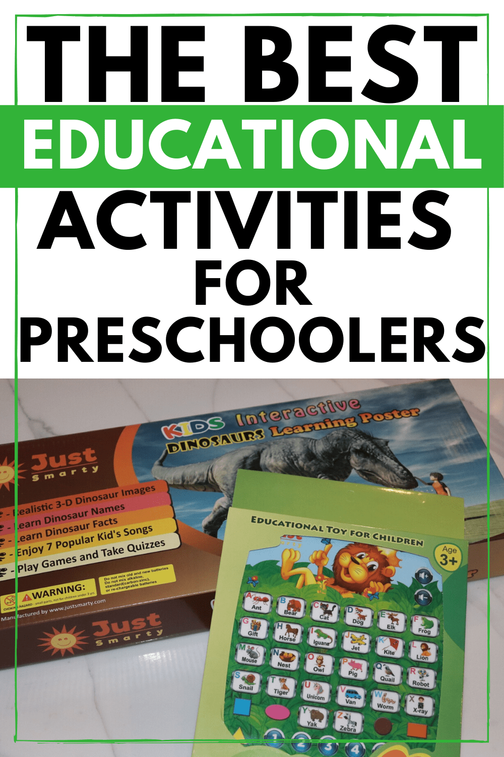 Best Educational Activities for Preschoolers