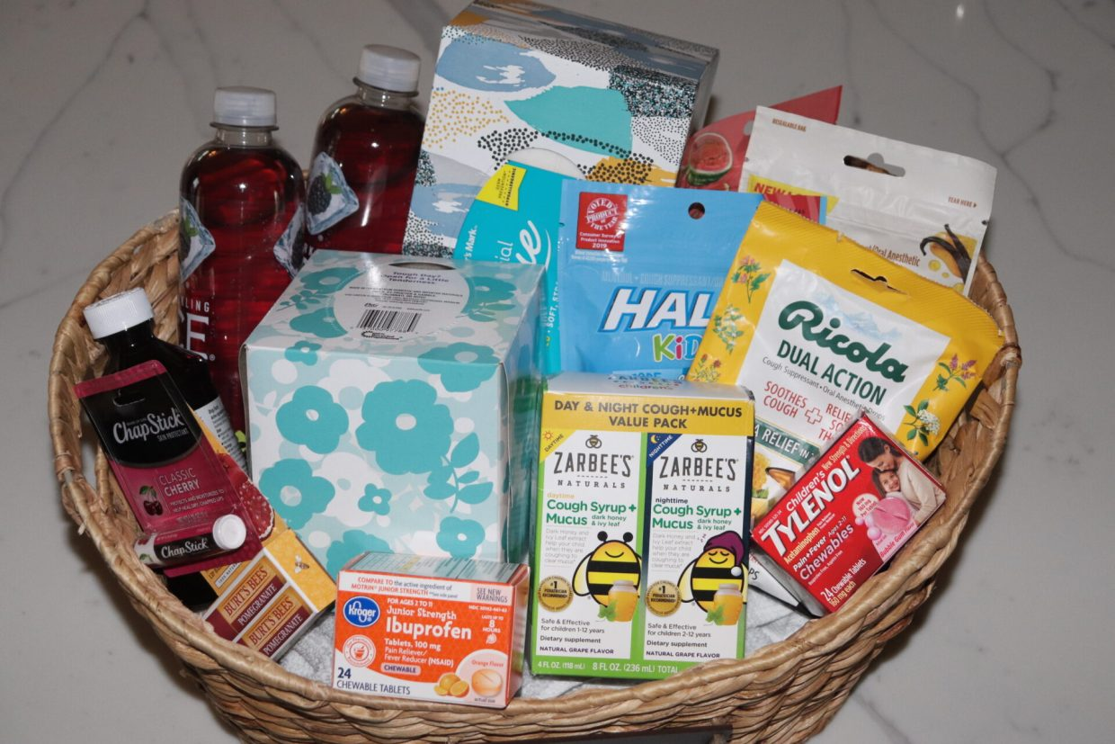 No one loves being sick! So next time when you or a loved one gets sick, turn to your cold survival kit to kick your cold in no time!