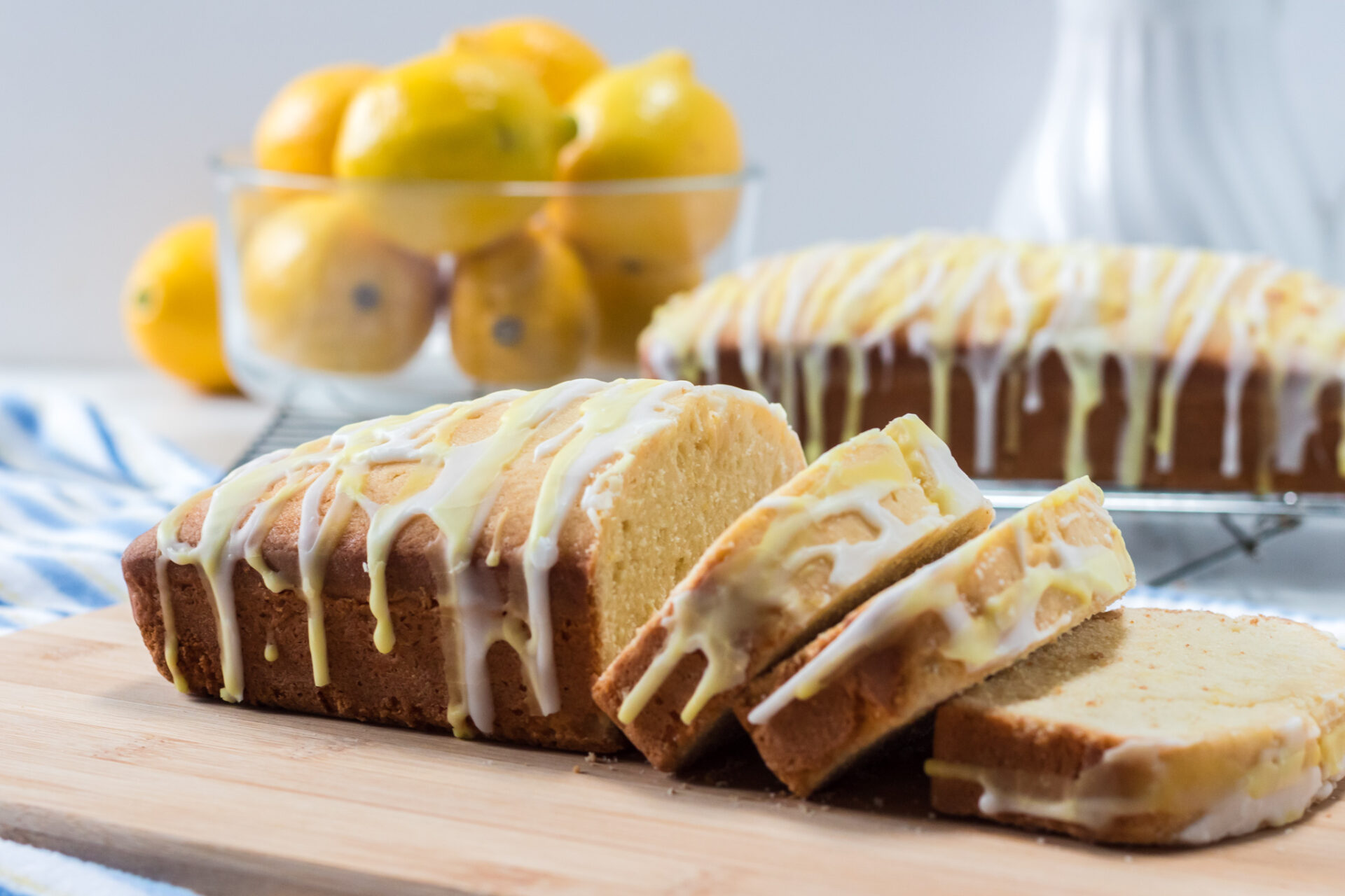 Your tastebuds will be singing when you taste this delicious Lemon Loaf! This super moist load is packed with lemon flavor and topped with a delicious sweet icing.