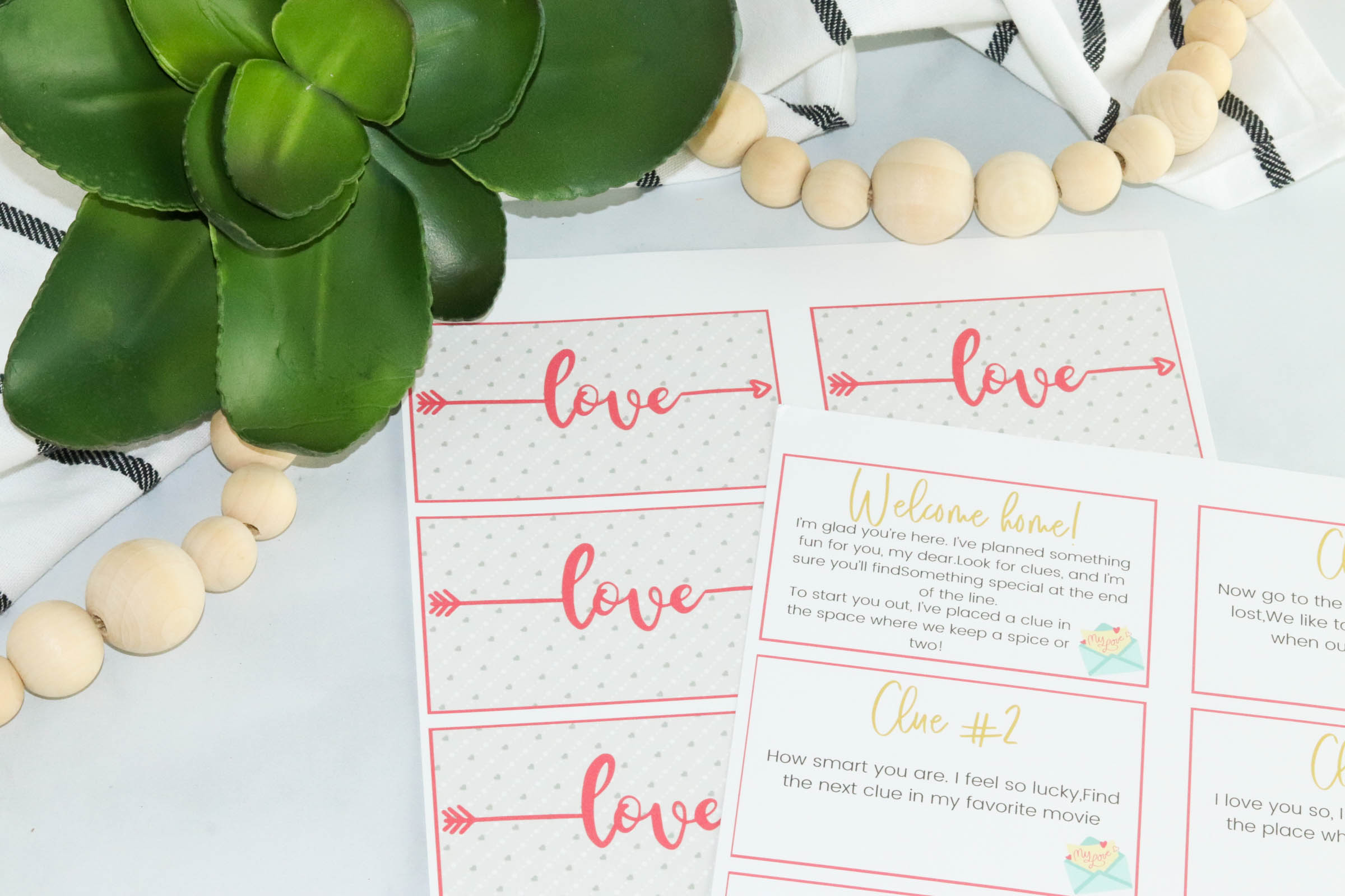 Are you looking for a fun way to surprise the one you love? Create a cute date night or special occasion with this adorable romantic scavenger hunt! Your significant other will love where this fun romantic scavenger hunt takes you.